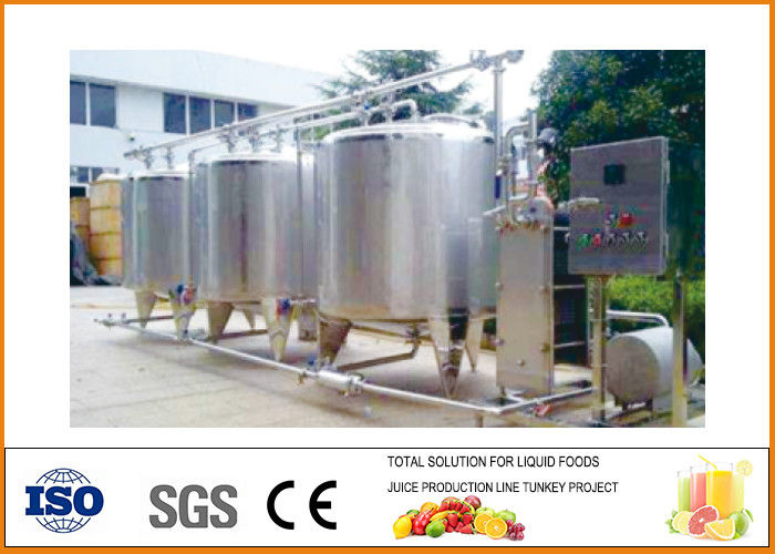 Energy Saving SUS304 Material Apple Juice Production Line 20T/H Capacity