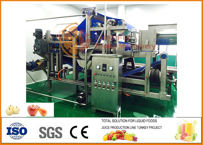 Automatic 10T/H Capacity Apple Juice Processing Line