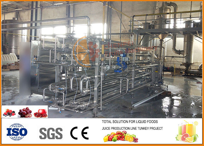 20T/H Beverage Processing Plant Energy Saving Raspberry Concentrate Juice