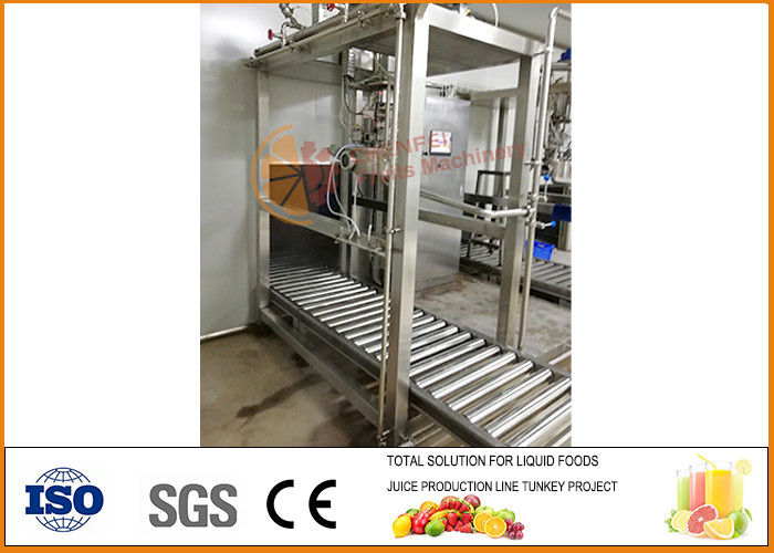 SS304 single head Aseptic bag Juice Filling Machine