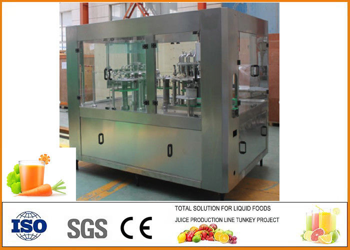 SS304 turnkey carrot Beverage juice beverage processing line
