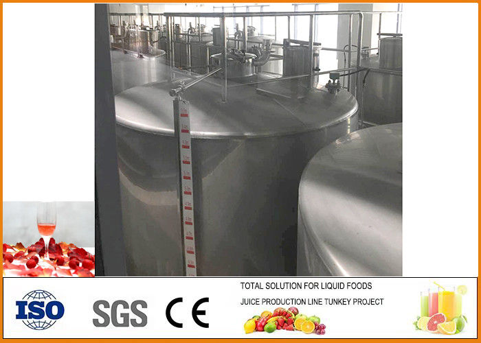 Customized Fermentation Equipment Hawthorn Wine Line Easy Operation