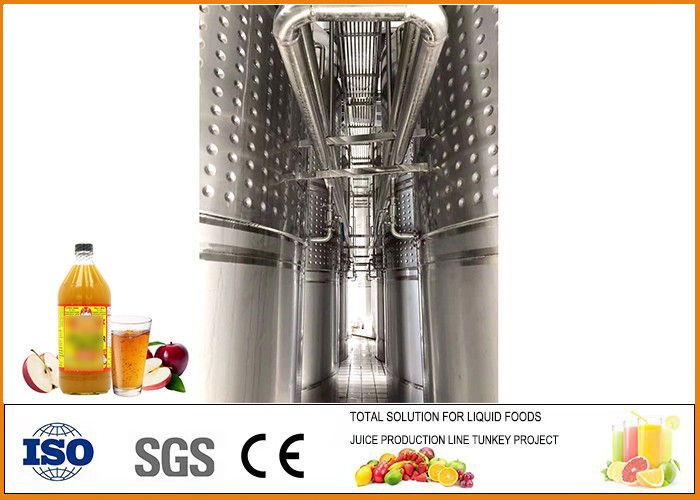 Automatic Apple Cider Vinegar Fermentation Equipment Different Size ISO9001