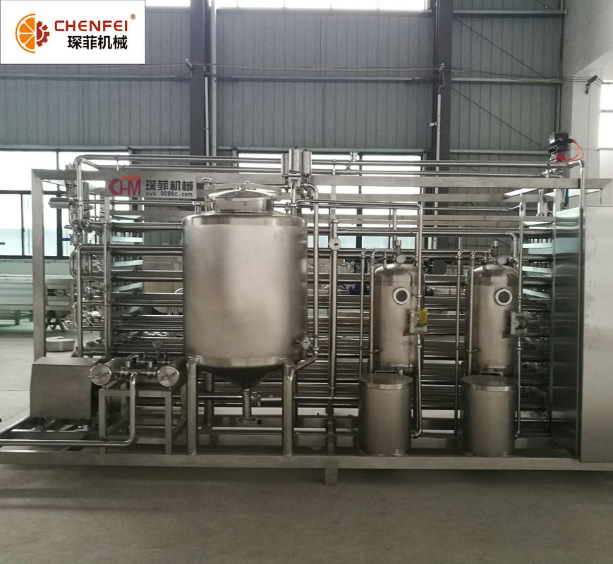 Casing Type High Temperature Sterilizer Machine For Beverage And Jam